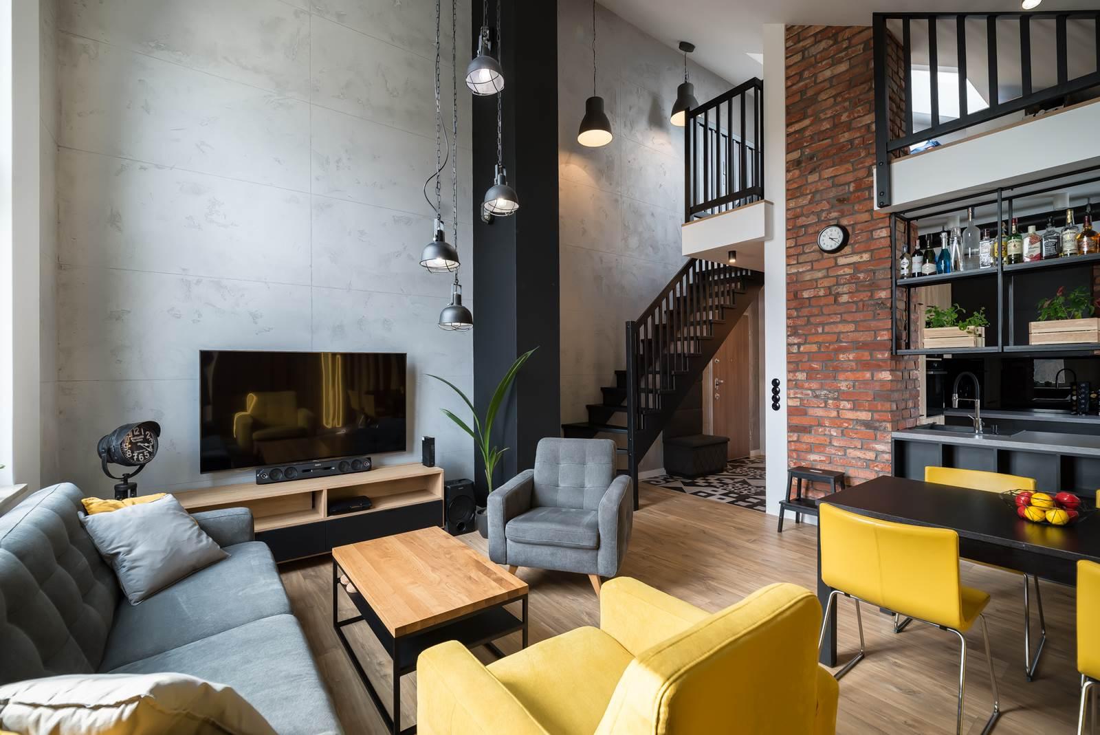 Loft Living – mieszkanie w Gdyni